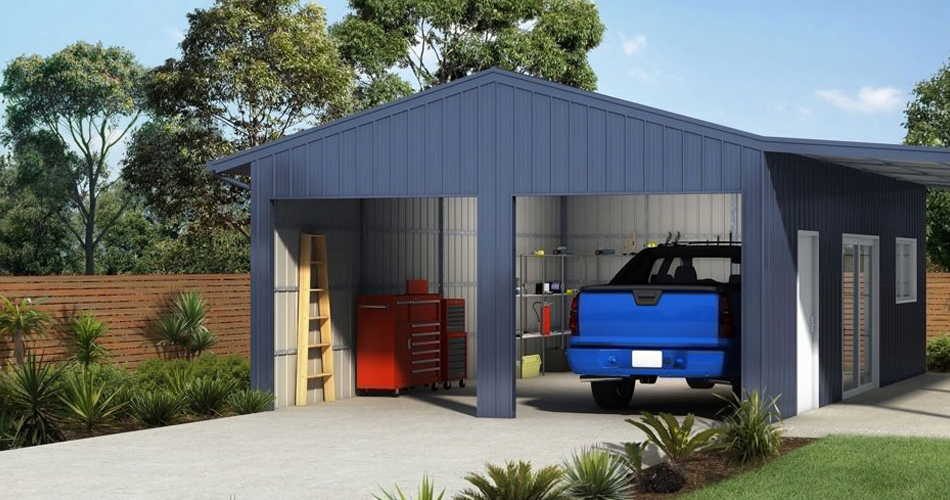 5 differences between steel skillion sheds and your traditional garage