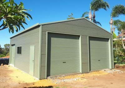 Double Door Residential Sheds