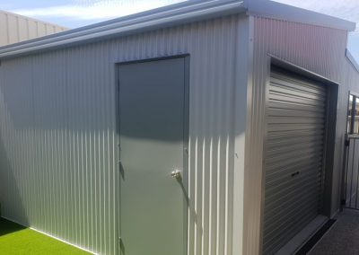 Residential Shed with door