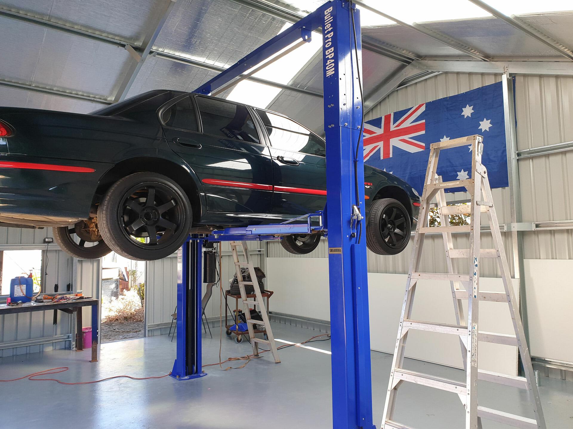 garage sheds perth