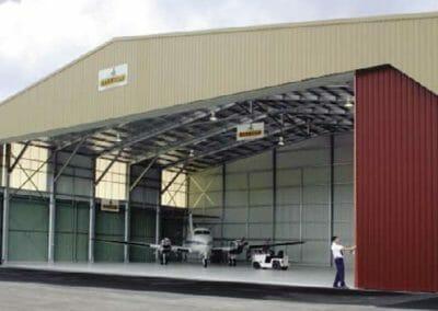 Aircraft Hangar Buildings - Spinifex Sheds