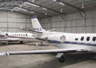 Aircraft Hangar - Spinifex Sheds