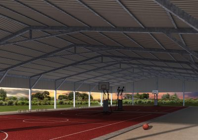 Covered Learning Arena