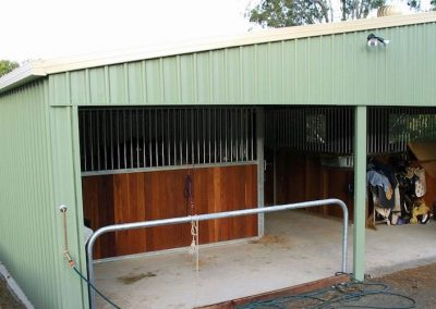 Horse Stable Barn - Spinifex Sheds