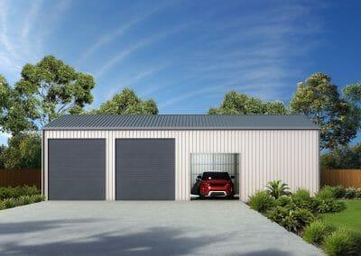 Large Workshop Building - Spinifex Sheds