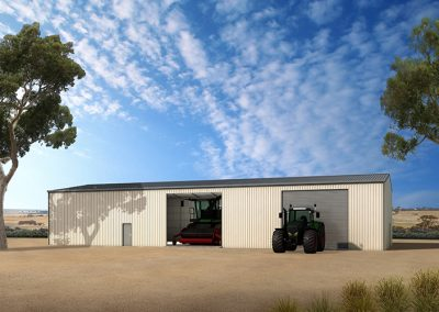 Machinery Shed Design - Machinery Sheds