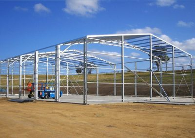 Constructing a Commercial Building - Spinifex Sheds