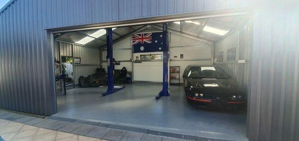 auto garage sheds