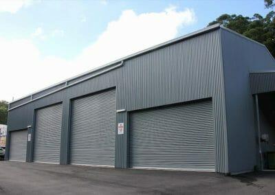 industrial building sheds