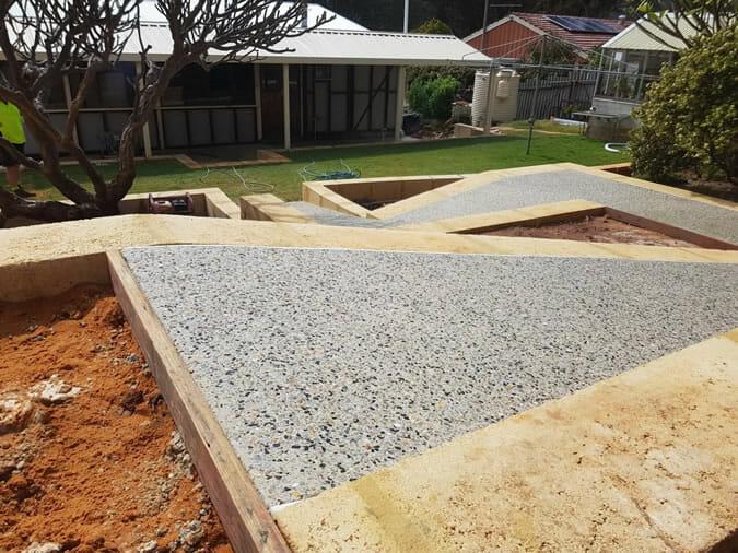 sheds concreting